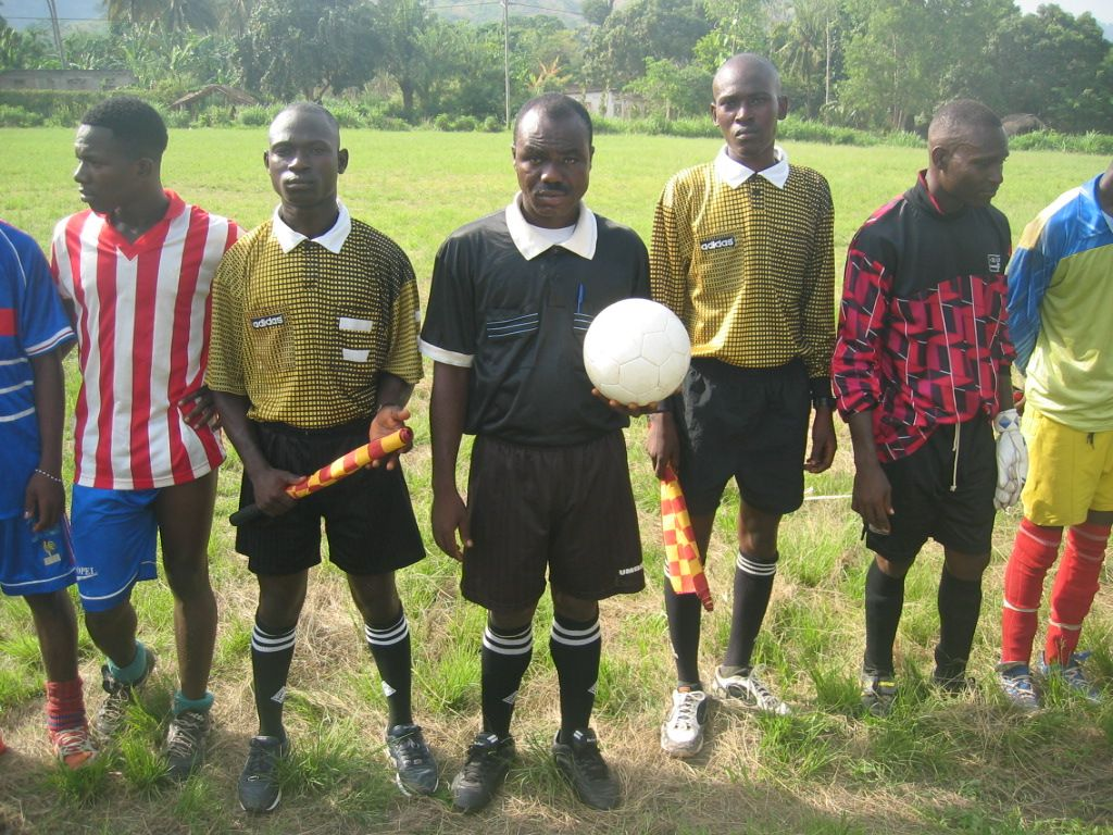 I also organized a soccer tournament for 6 villages in Togo