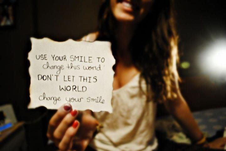 Change the World with your Smile